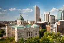 Indianapolis Landmarks / Highlighting some of our favorite sites around our gorgeous city! #Indianapolis