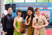 La Folle Journée au Japon / Gershwin program at Maru-Bil Marucube on May 3rd, 2014. Good atmosphere with full of audience. Enjoyed the performance very much!