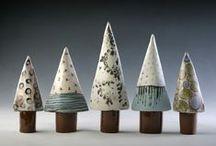 Idéer och förslag till keramiken / att få igång kreativiteten och kanske spinna vidare på andras ideér eller göra egna varianter av dem.