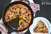 recipes: pizza + savory breads