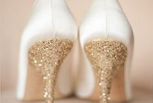 Glistening Glitter Gold / Inspiration for a Gold wedding