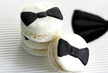 Black Tie / Inspiration for a 'formal affair' wedding and lovers of black and white.