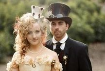 SteamPunk / Inspiration for weddings with a steampunk theme.