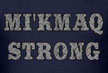 Mi'kMaq Newfoundland Native T-shirts / PROUD MI'KMAQ MICMAC NATIVE INDIAN FROM NEWFOUNDLAND LABRADOR