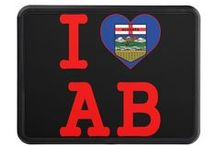 ALBERTA, CANADA. T-shirts and other items on my Zazzle & Spreadshirt shops. / Showing designs I created and items for sale on Zazzle and Spreadshirt in relation to Alberta, Canada.