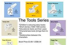 Children's Books - Educational Books - Colouring Books / Children's books from age 3 to 8, Children colouring books, Bedtime stories