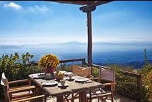 VILLA ALONAKI - Holiday Rental Villa in Pelion - Greece / Cosy traditional house with spectacular view! This house is 85m², it is laid out in three levels & can easily accommodate four to six guests.