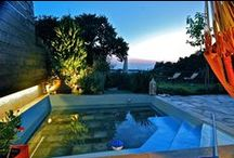 VILLA DIONI - Holiday Rental Villa in Pelion - Greece / illa Dioni is unique in many ways, with a flat grassed garden and a small shallow cooling pond of 10m² makes it an ideal holiday home for couples or families with young children! And we promise you this...you will not forget those endless sunsets!