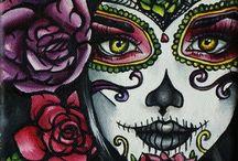 DAY OF THE DEAD & FOLK ART