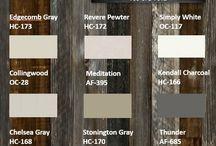 Colour   Design Boards   Staging   Paint