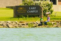 Lake Campus / The Wright State University Lake Campus is located in Celina, Ohio and sits on the shores of the beautiful Grand Lake St. Marys. #loveWSUlake