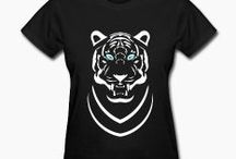 ANIMALS / Showing ANIMAL designs I created and items for sale on Zazzle and Spreadshirt.