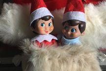Elf on the Shelf Inspo   Fun Times / Christmas fun with Elf on the Shelf