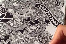 mandala drawing tutorial