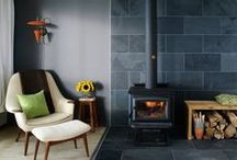 Natural Slate Inspiration / Looking to use natural slate within your home or interior design project.  Check out our inspiration board for ideas
