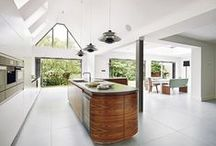 Inspirational Kitchens / A page of our favorite kitchens filled with beautiful natural stone.