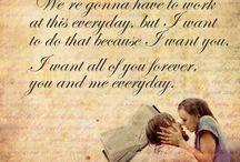 Nicholas Sparks movies / Le plus bel amour est celui qui éveil l'âme, et nous fait nous surpasser. Celui qui enflamme notre cœur et apaise nos esprit. C'est ce que tu m'as apporté.  Noah