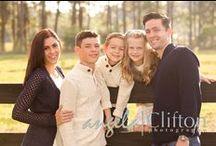 family photography / family portraits, beach family photo sessions, park family photo shoots / by Angela Clifton Photography