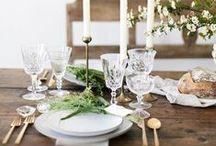 Tablescape // Wedding / Tablescape // Wedding