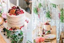 Dessert Tables // Wedding / Dessert Tables // Wedding