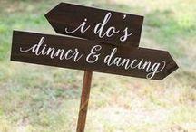 Signage // Wedding / Signage // Wedding