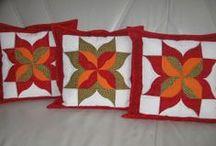 moje práce,polštářky / patchwork