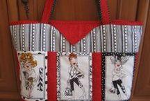 moje práce-tašky a taštičky / taštičkování