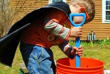 Diggin' in the Dirt / Get out in the garden with the kids!