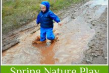 Go Play Outside! / Ideas for kids in nature.