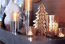 Christmas Home Interiors Trends / Beautiful interior trends, furnishings, lighting and all things festive!