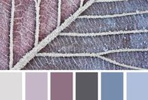 Colour Palettes / Colour palettes that work so well together for creating the perfect room-set