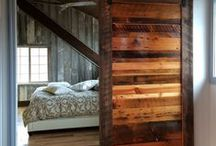 Barnwood / Reclaimed Wood / Pallet Design / From Barnwood designs to Pine Beetle Kill furniture from Colorado, this board covers it all.