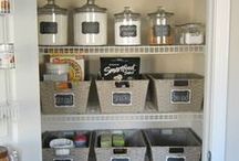 Pantry Envy / Food Organization / Tips and tricks to keeping our pantries organized and orderly!