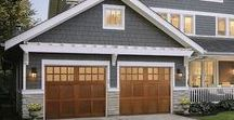 Garage Doors that Wow / Contemporary to Old World, Traditional to ornate...compiling a board of fabulous garage doors.