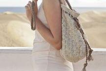 Bags - crochet (Torebki na szydełku) / Wzory na torebki wykonane szydełkiem.