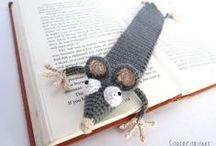 Bookmarks - crochet (Zakładki do książek na szydełku)