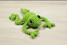 Animal Crochet Patterns (Zwierzątka na szydełku) / Wzory na zwierzęta wykonane szydełkiem.