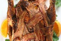 BACON / All things bacon.  Recipes, snacks, drool worthy pics.  Enjoy!