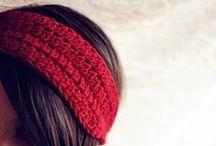 Headbands & Earwarmers - crochet (Opaski na szydełku) / Wzory na opaski wykonane szydełkiem.