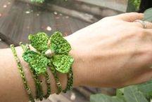 Jewellery - crochet - Biżuteria na szydełko / Wzory na kolczyki, naszyjniki itp.