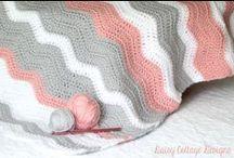 Baby blankets - crochet (Kocyki niemowlęce na szydełku) / Szydełkowe wzory na niemowlęce kocyki i otulaki.