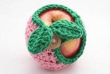 Food - crochet - (Jedzenie na szydełku) / Wzory na artykuły spożywcze i potrawy.