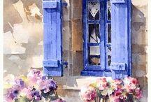 Акварель/Watercolors