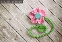 Flowers - crochet (Motywy kwiatowe na szydełko) / Wzory na szydełko.