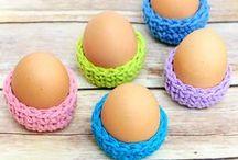 Easter - crochet (Wielkanoc na szydełko)