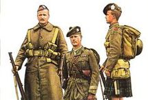 WWII British Army Scots