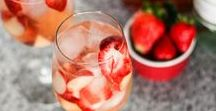 Recipes - Cocktails and Drinks / Our favorite recipes for party cocktails and drinks.