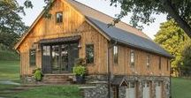 Barns, Barn Homes and Barndominiums / Converting old barns into beautiful homes. Or maybe build a new 'barndominium'...lots of great ideas to share.