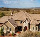 For Sale - 2938 Ballard Court Castle Rock, CO 80109 / MLS# 8356267  This exquisite home on 8 acres with horse stalls includes the works of several local artisans which make it truly one of a kind! From imported Italian tile to fossil embedded seabed stone to museum reproduction full radius wall murals, this home will wow! Stunning Chefs kitchen has 20ft double stacked, hand chiseled grade 5 granite island. A must see!