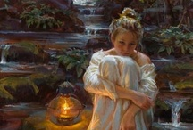 """Art - Daniel F. Gerhartz / """"If I were called upon to define briefly the word Art, I should call it the reproduction of what the senses preceive in nature, seen through the veil of the soul."""" Paul Cezanne  / by Allan Dynes"""
